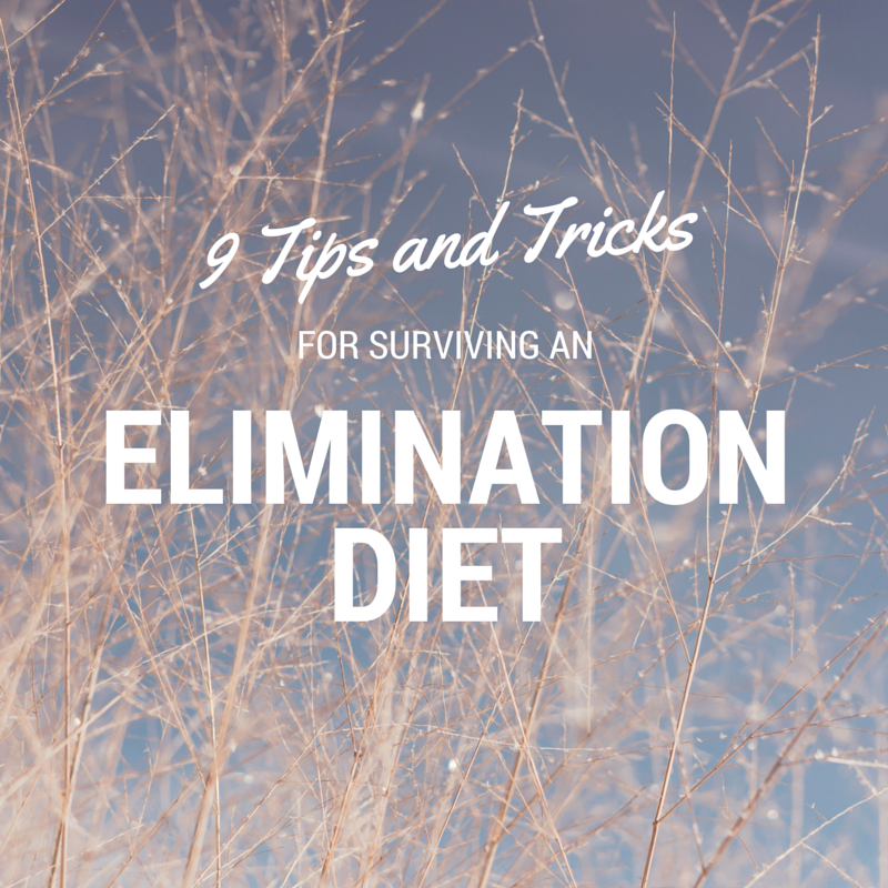 Tips And Tricks To Encourage Better Nutrition: 9 Tips And Tricks For Surviving An Elimination Diet • OCD