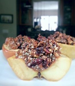 Paleo Stuffed Baked Apples (GF)