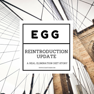 Food Intolerance Reintroduction Update: Eggs