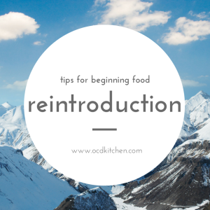 Tips for Beginning Food Reintroduction
