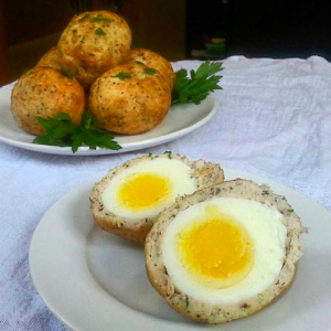 Paleo Scotch Eggs (GF)