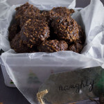 Fudgy dense double chocolate oatmeal bites are a great start (or end) to your day. Everyone deserves a sweet treat now and again. Vegan and delicious! - OCD Kitchen