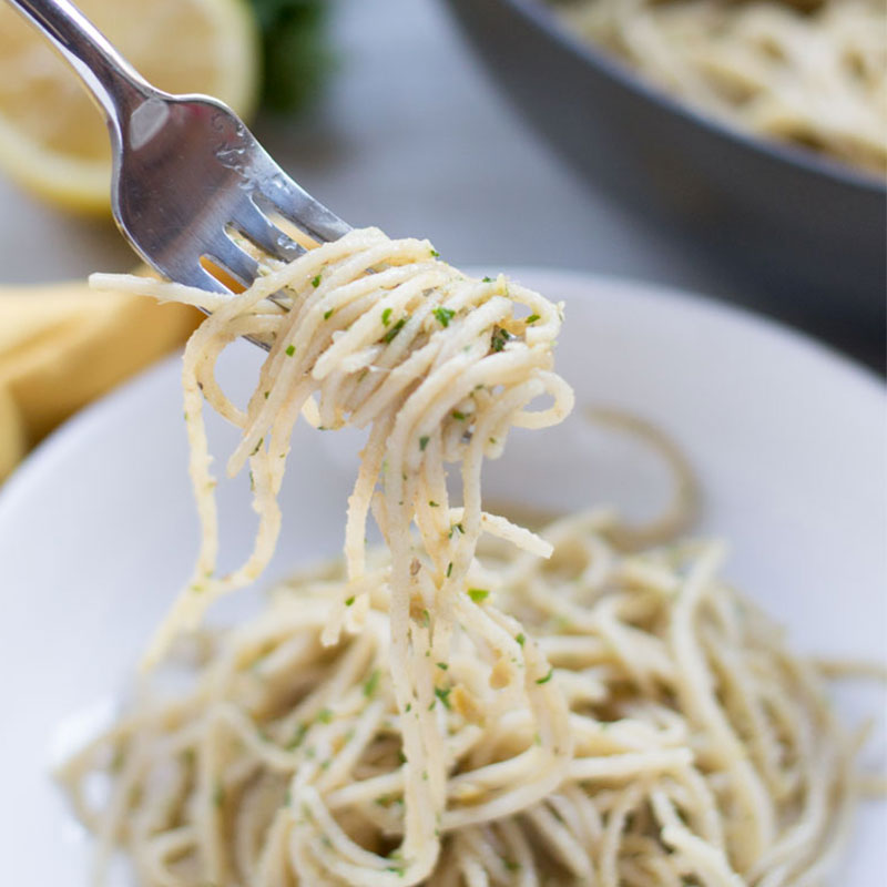 A savory classic, this anchovy spaghetti will transport you to grandmas table. Only anchovies can provide this unique depth of flavor. - OCD Kitchen