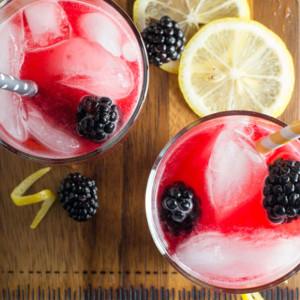 Fresh Squeezed Blackberry Lemonade