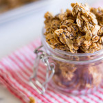 Extra Large Granola Clusters to pop all day long. Serve it with milk, over ice cream, with fruit, or straight up! - OCD Kitchen