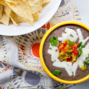 Easy Black Bean Dip {Vegan}